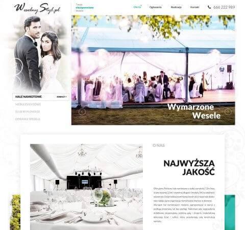 strona www wesela