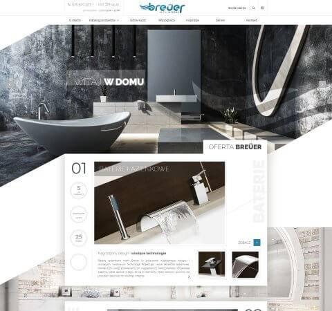 projekt strony www armatura