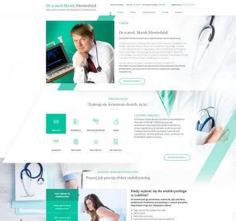 strona internetowa endokrynolog
