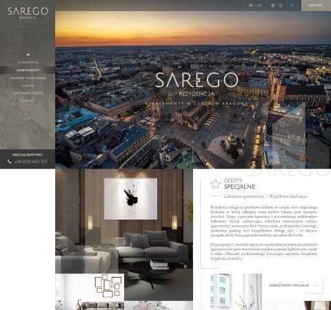 projekt strony internetowej nieruchomości